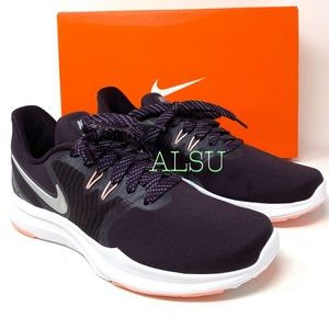 Nike IN-Season TR 8 Canvas Burgundy Women Sneakers